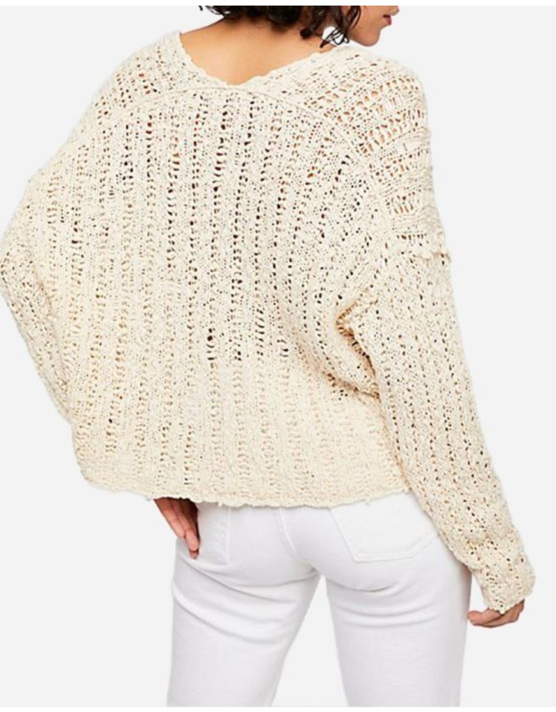 free people free people v-neck sweater