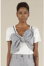 flight lux current air front tie cami top