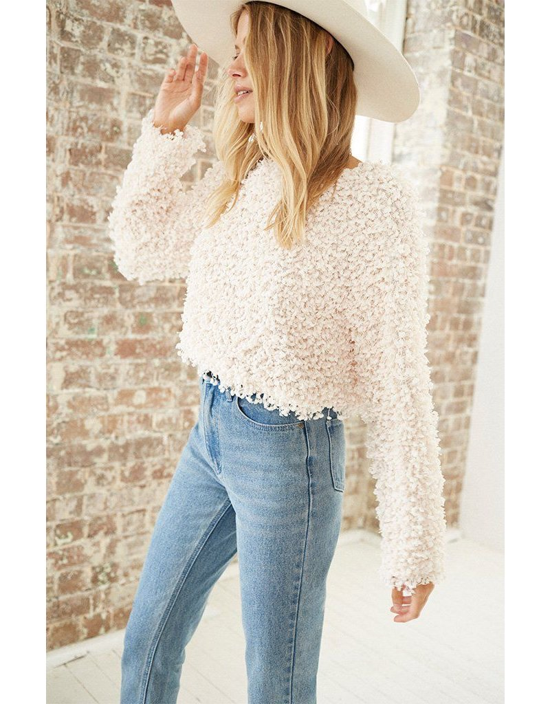 somedays lovin somedays lovin glorious cropped sweater