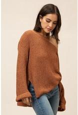 flight lux tease sweater