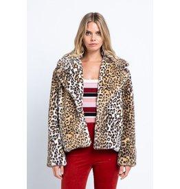 flight lux leopard coat