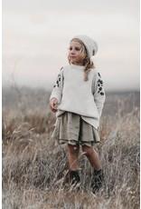 rylee cru rylee + cru embroidered chenille sweater