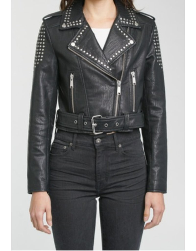 pistola pistola tracy studded  jacket
