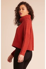 jack jack cable knit cropped sweater