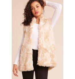 jack jack faux fur vest