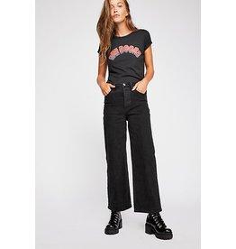 free people free people wide leg high waist jeans