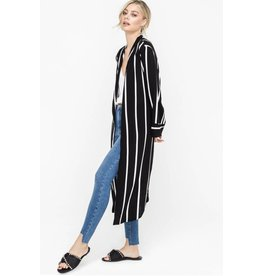 lush lush stripe duster jacket