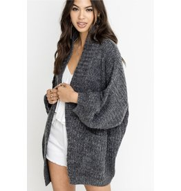 lush lush oversized cardigan sweater
