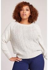 bb dakota bb dakota secret velvet bow sweater