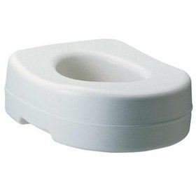"Carex Blow Molded Toilet Seat Riser (5"")"