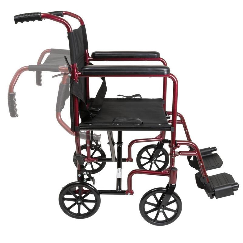 "ProBasics ProBasics Aluminum Transport Chair - 19"""