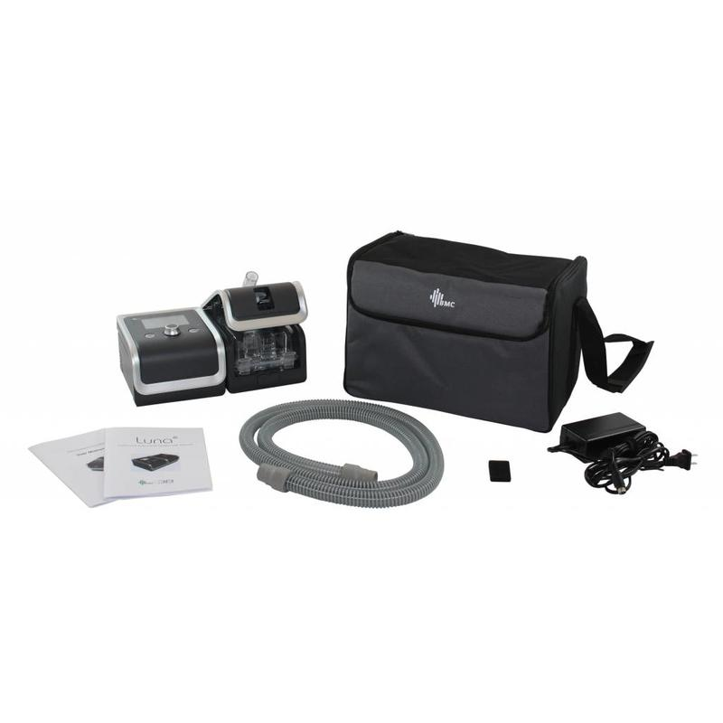 3B Medical Luna CPAP System With Integrated Heated Humidifier, QR Coding, SD Card, iCode, and RESlex Exhalation Relief