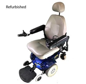 Jazzy Refurbished Pride Jazzy Select Power Wheelchair - Blue