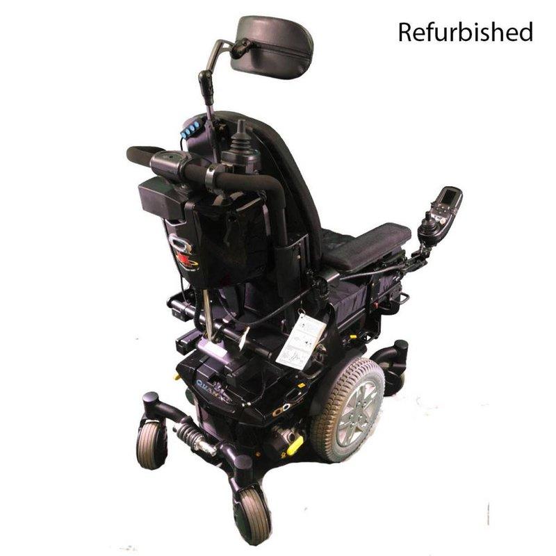 Quantum Refurbished Quantum Edge Q6  Power Wheelchair - Black