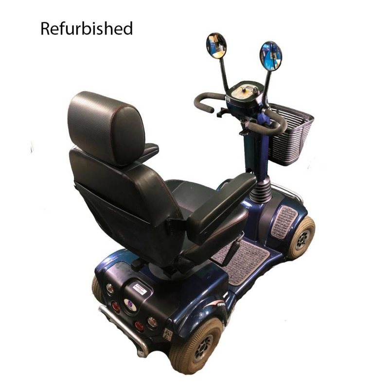 EV Rider Refurbished Heartway PF6K Mobility Scooter - Blue