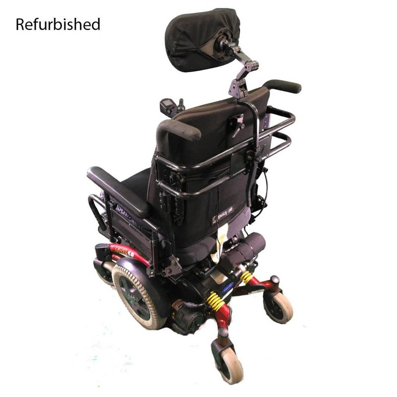 Invacare Refurbished Invacare TDX SP Power Chair - Red