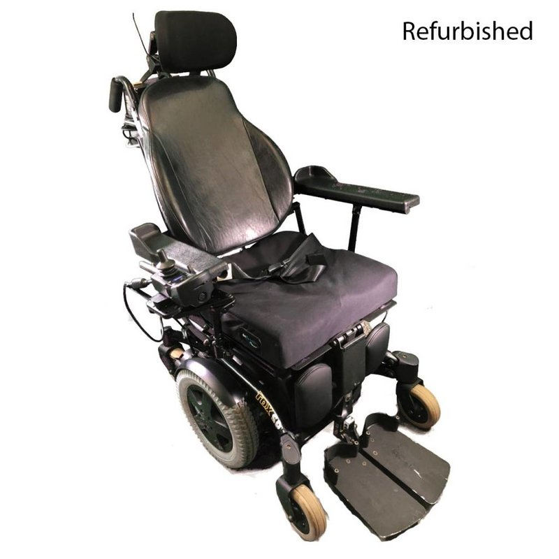 Refurbished Invacare TDX SP Power Chair - Green
