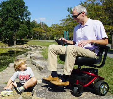 The LiteRider Envy Is A Convenient, Portable, and Affordable Mobility Scooter!