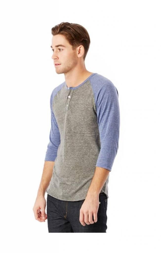 Alternative Apparel Eco Jersey 3/4 Sleeve Raglan