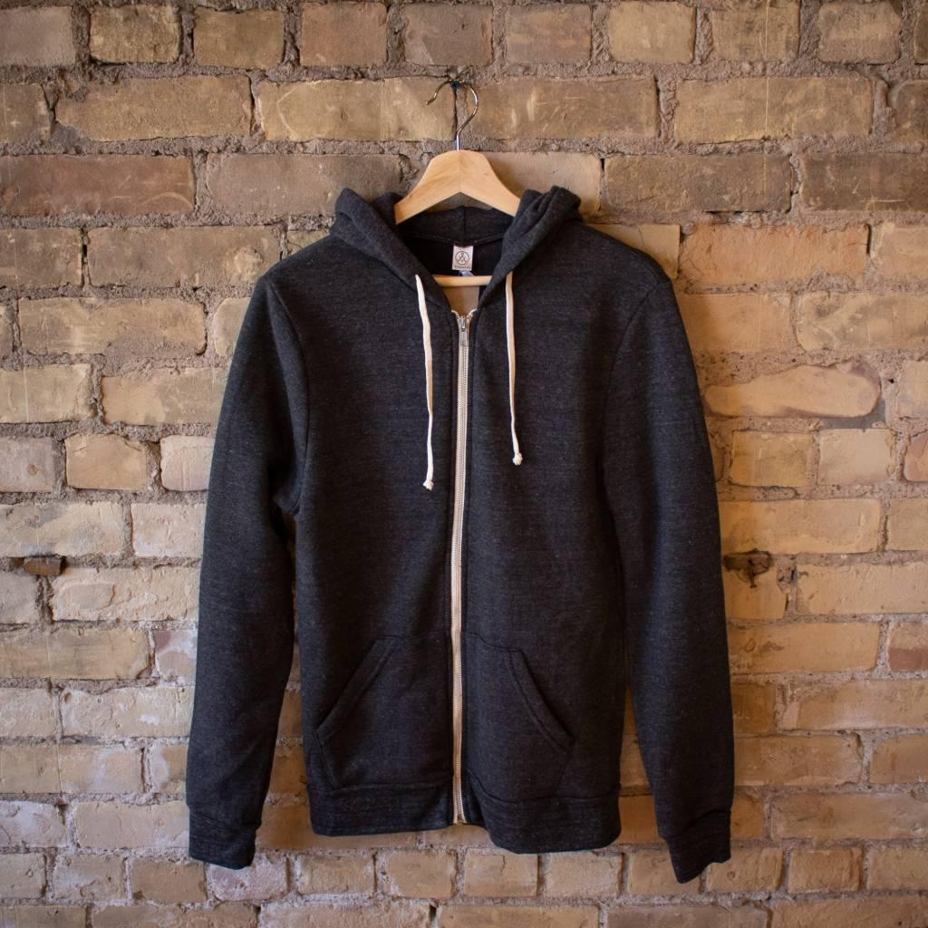 Alternative Apparel Rocky Eco-Fleece Zip Hoodie
