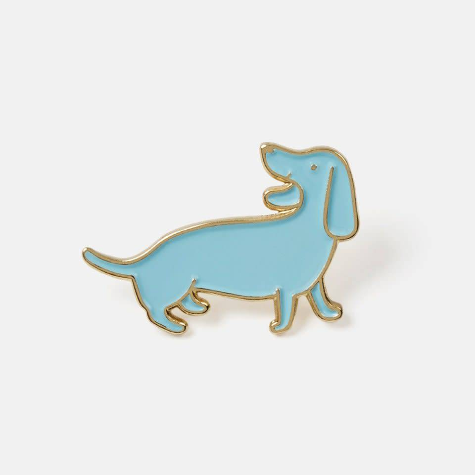 The Good Twin Doxie Enamel Pin