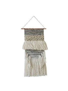 Wool & Cotton Woven Wall Hanging