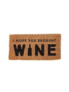 Wine Welcome Mat