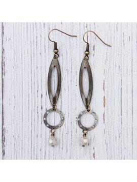 Metal Tear Drop Earrings - True Elements