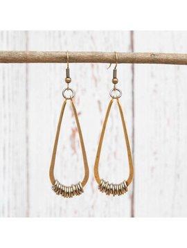 Get Lost Teardrop Earrings