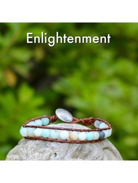 Gemstone Threaded Wrap - Enlightenment