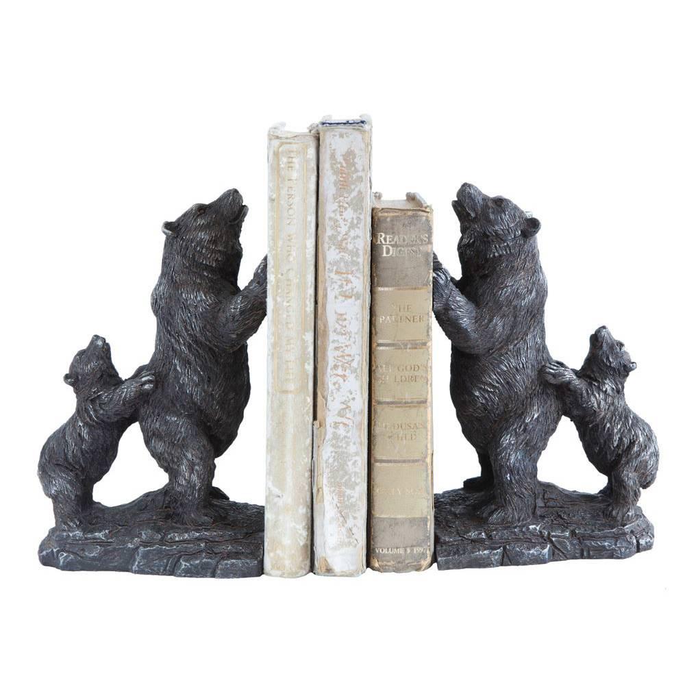 Resin Bear Bookends