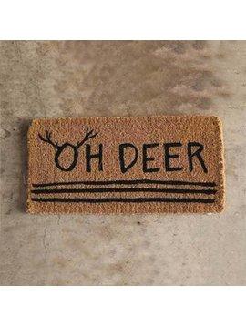 """""""Oh Deer"""" Doormat"""