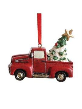 Resin Truck Ornament