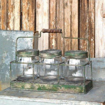 Triple Flower Jar Arranger