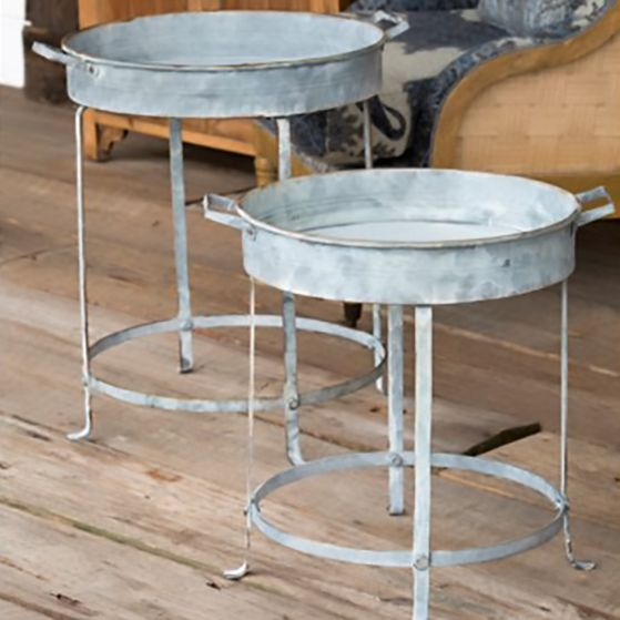 Round Tray Table