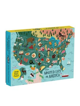 Hachette Books The United Eats of America 1000 Piece Puzzle