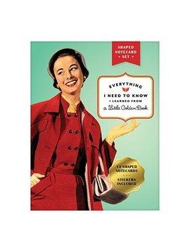 Hachette Books Little Golden Book Shaped Postcards