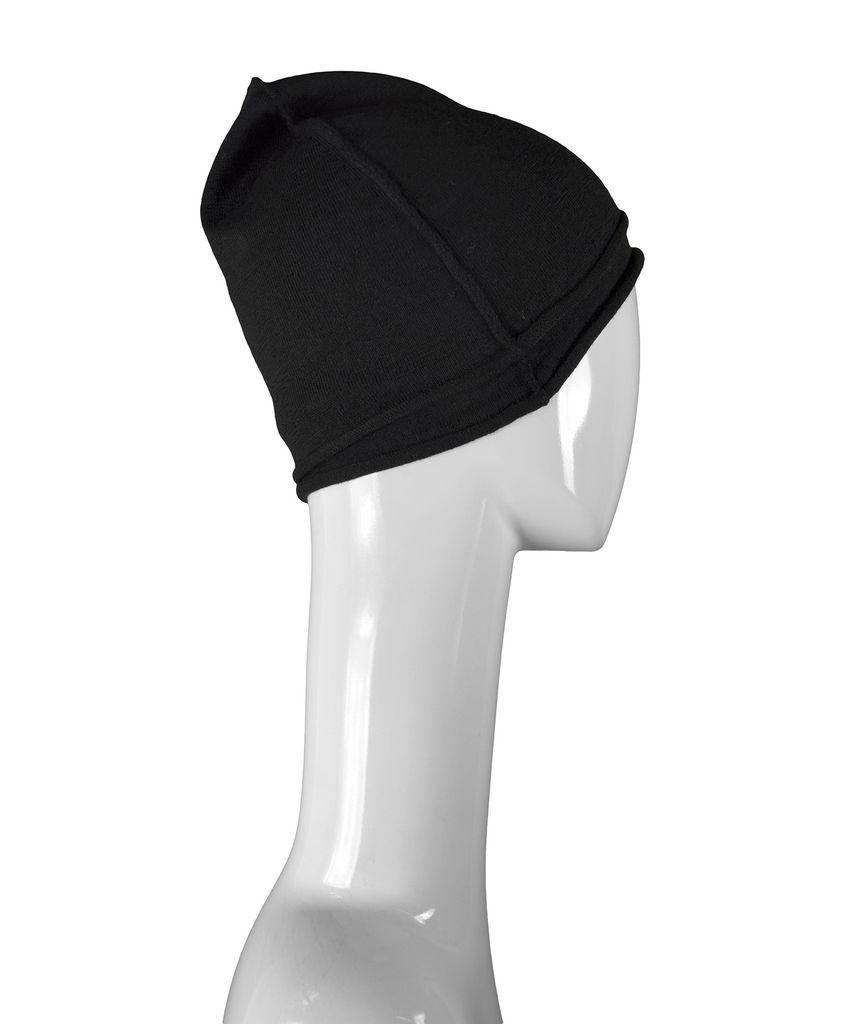 KNIT SELF EDGE HAT - VIRGIN WOOL