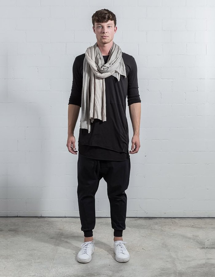 THOM KROM LONG COTTON SCARF