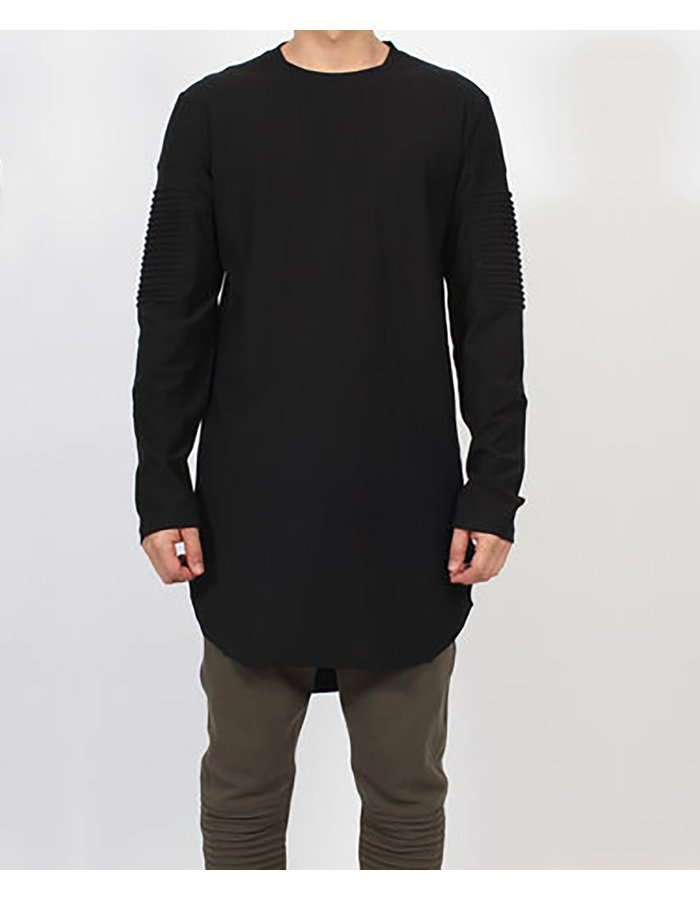 FIRST AID TO THE INJURED CUBITI BLOUSE : BLK
