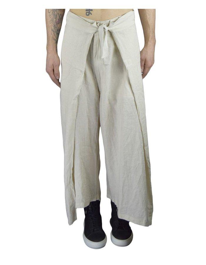 BARBARA I GONGINI OVERSIZED PANT WHITE
