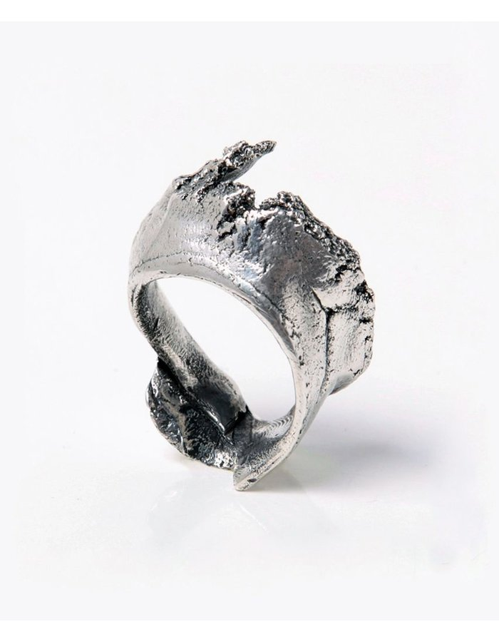 GASPARD HEX MAGMA RING