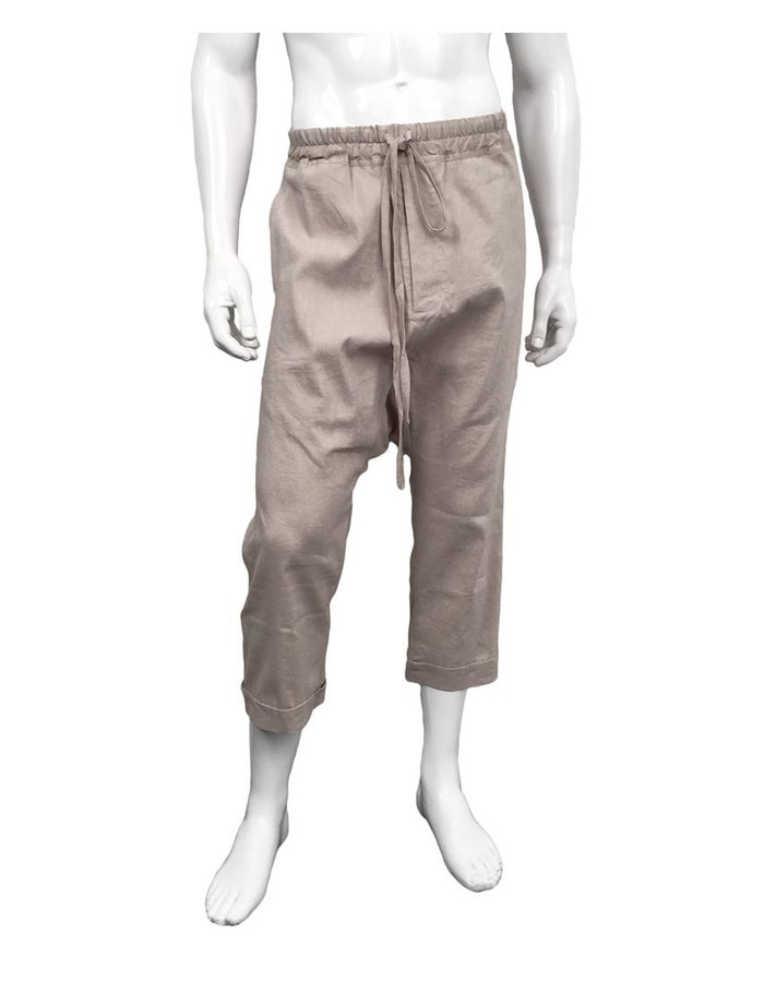JOE CHIA RUINES DROP CROTCH PANT CAMEL