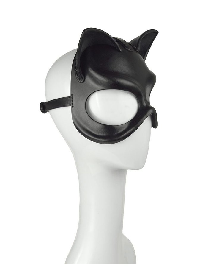 CECILIO LEATHER DESIGNS CAT WOMAN MASK