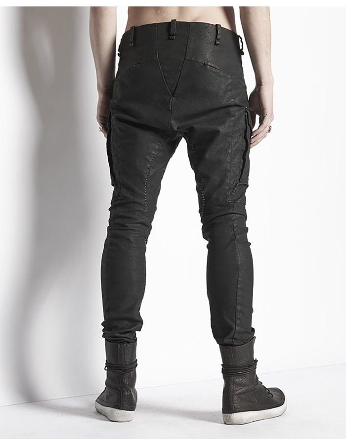 MASNADA OIL CLOTH COMBAT PANTS