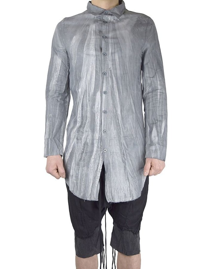 ARMY OF ME BUTTONED LINEN SHIRT