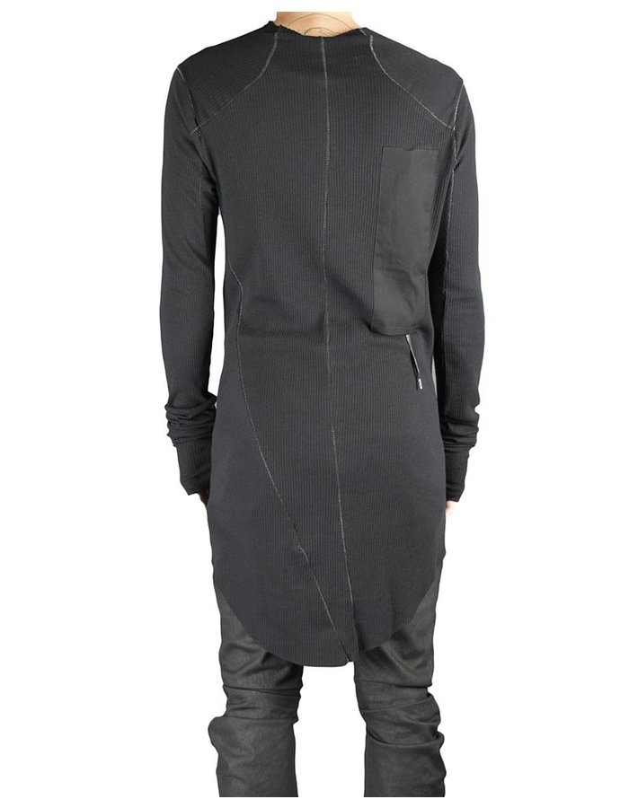 ARMY OF ME RIBBED TURTLE NECK JERSEY BLK