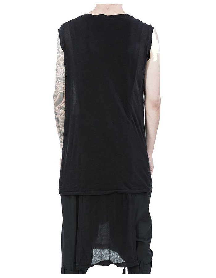 ARMY OF ME LIGHTWEIGHT COTTON PANELED VEST