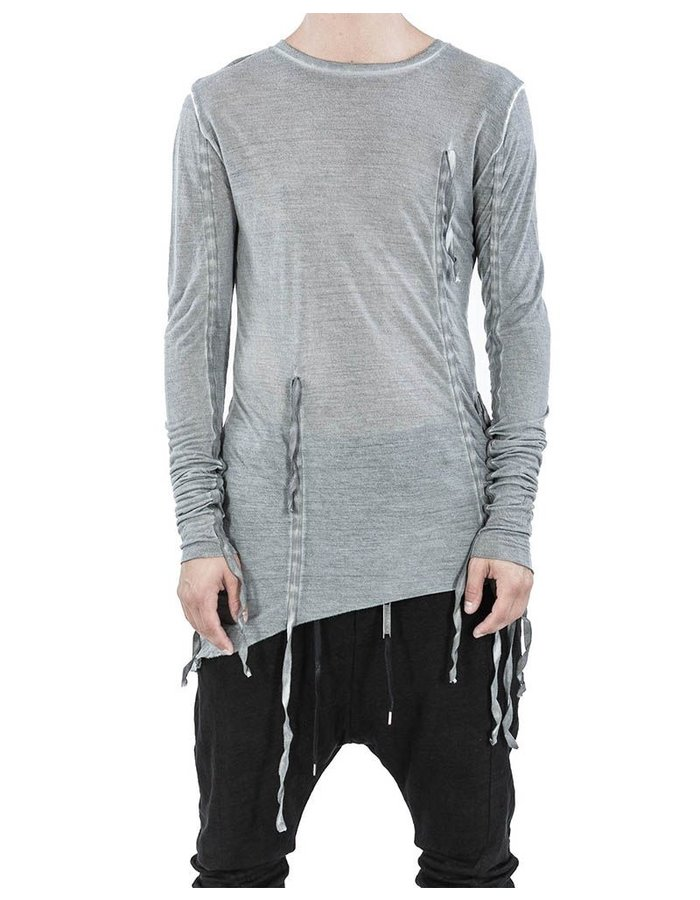ARMY OF ME BANDED LONG SLEEVE T-SHIRT CLAY