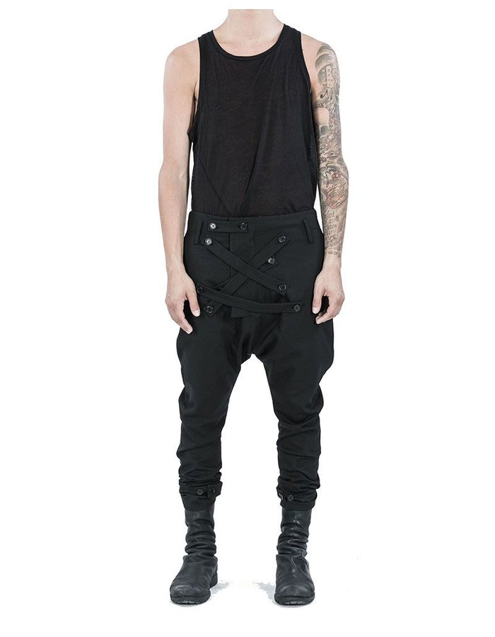 ARMY OF ME IRREGULAR BAND SLIM TROUSERS